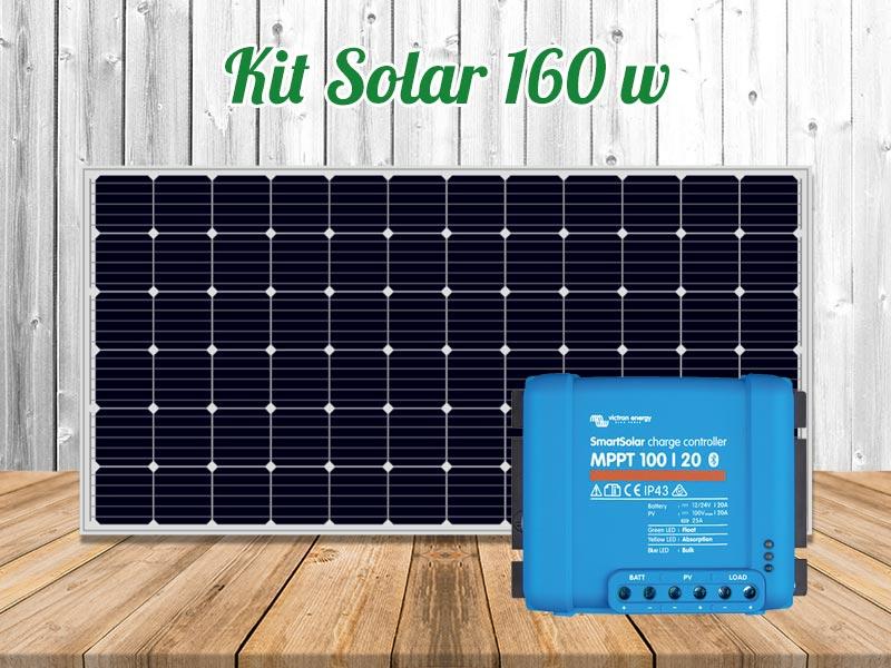 kit solar 160 w