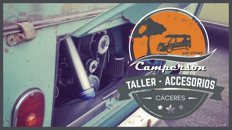Autocaravanas en Cáceres Taller