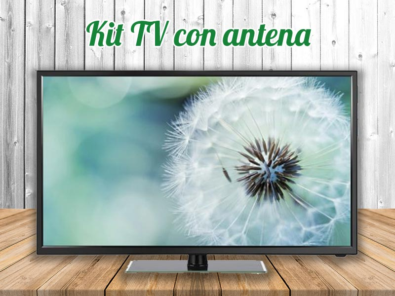Kit tv autocaravanas