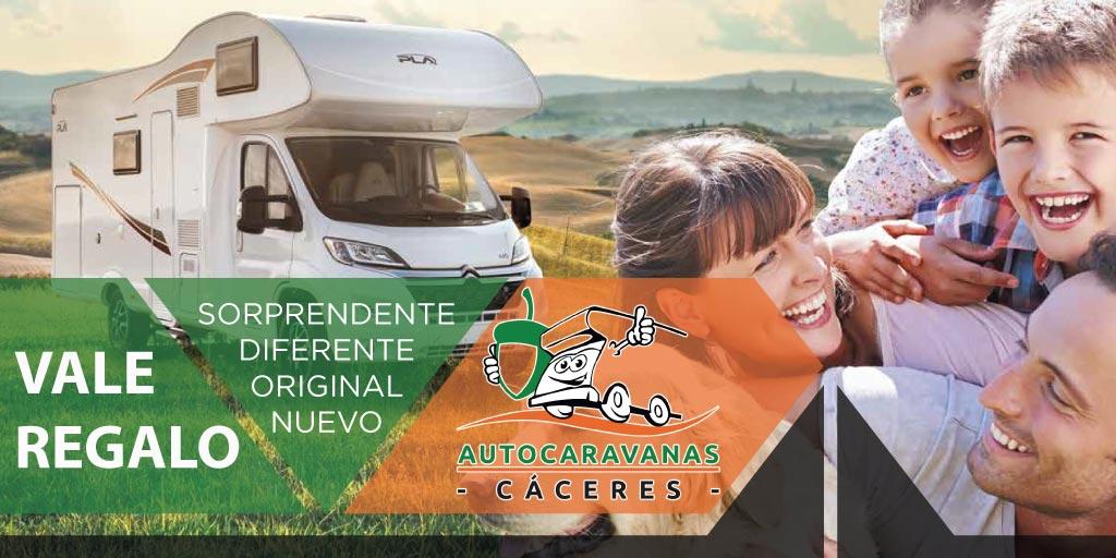Vale regalo Autocaravanas Cáceres